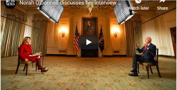 Norah O'Donnell discusses her interview with President Joe Biden