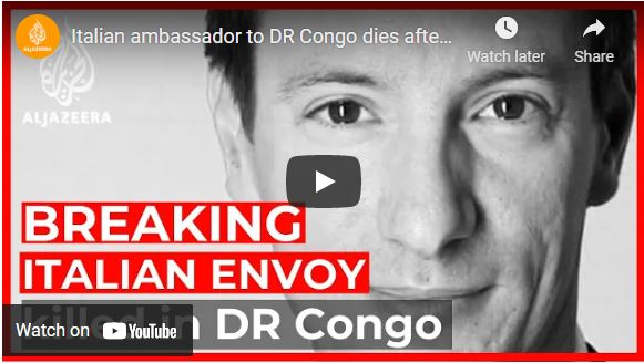 Italian ambassador to DR Congo dies after UN convoy attacked