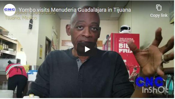 Yombo visits Menuderia Guadalajara in Tijuana