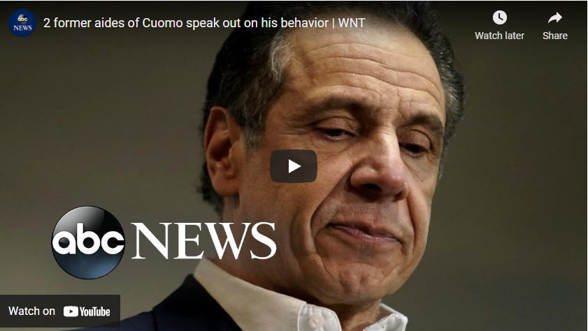 2 former aides of Cuomo speak out on his behavior | WNT