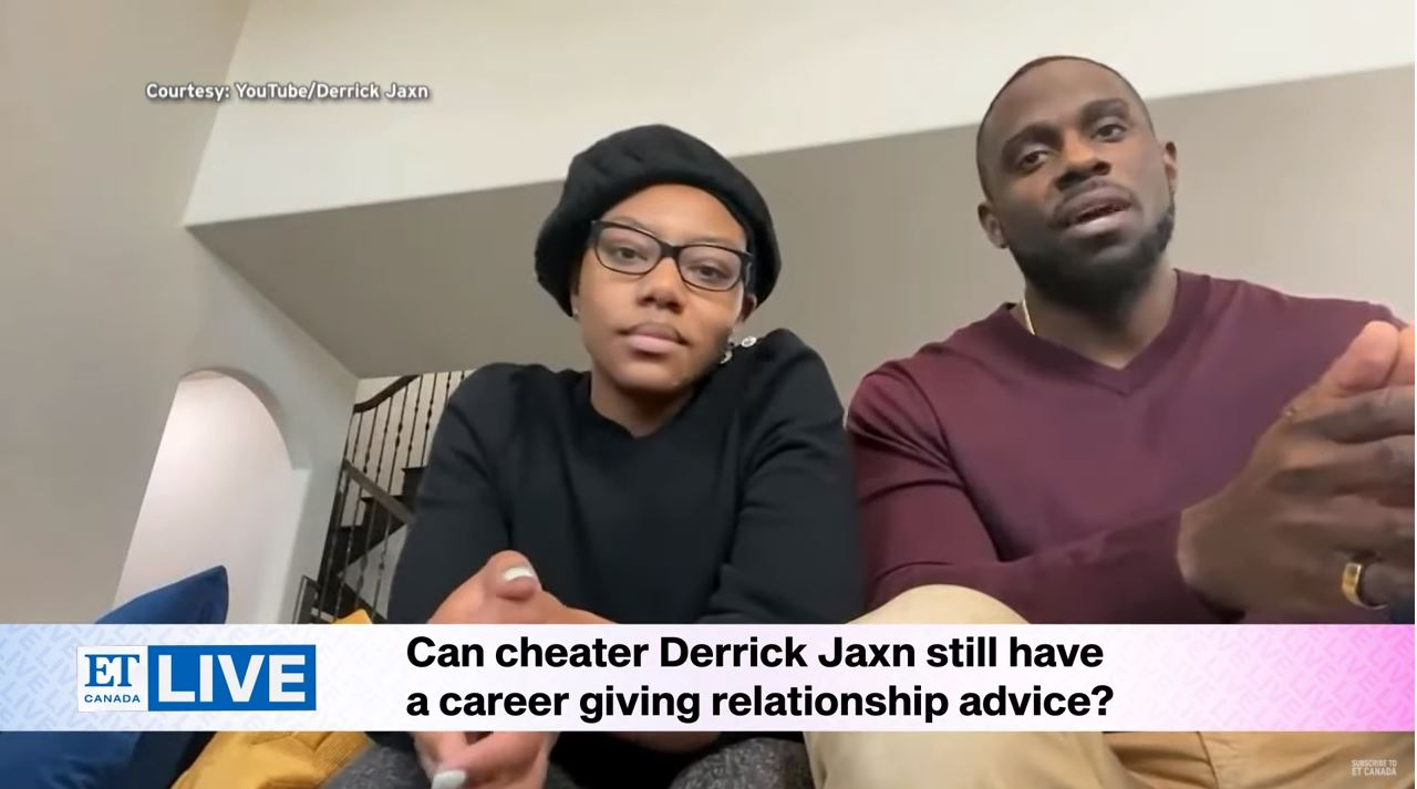Reaction To Derrick Jaxn's Cheating Confession