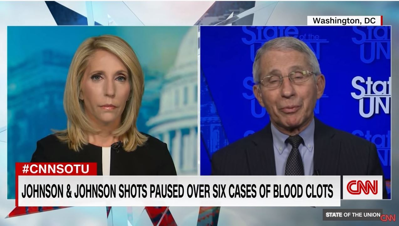 Dr. Fauci reacts to poll finding almost half of Republicans don't want vaccine