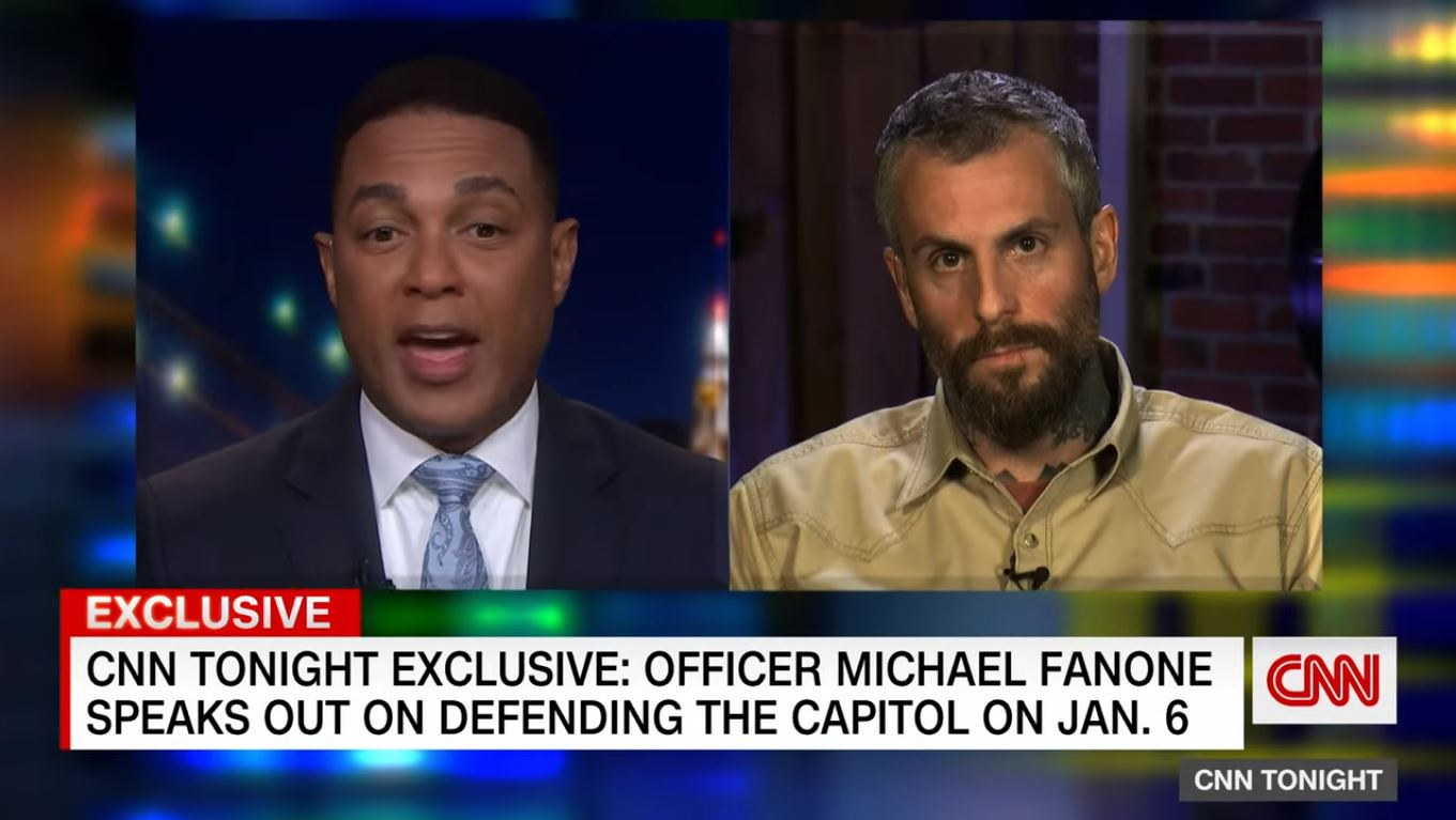 DC officer Fanone: Difficult hearing elected officials whitewash the Capitol riot