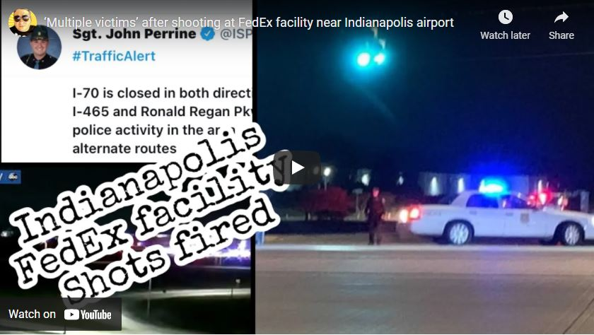 Multiple victims' after shooting at FedEx facility near Indianapolis airport