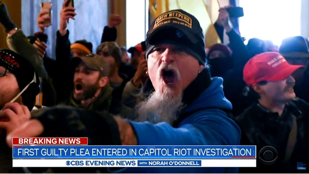 First guilty plea entered in Capitol riot investigation