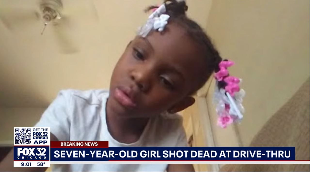 7-year-old Jaslyn Adams murdered at a McDonald's drive-thru in Chicago