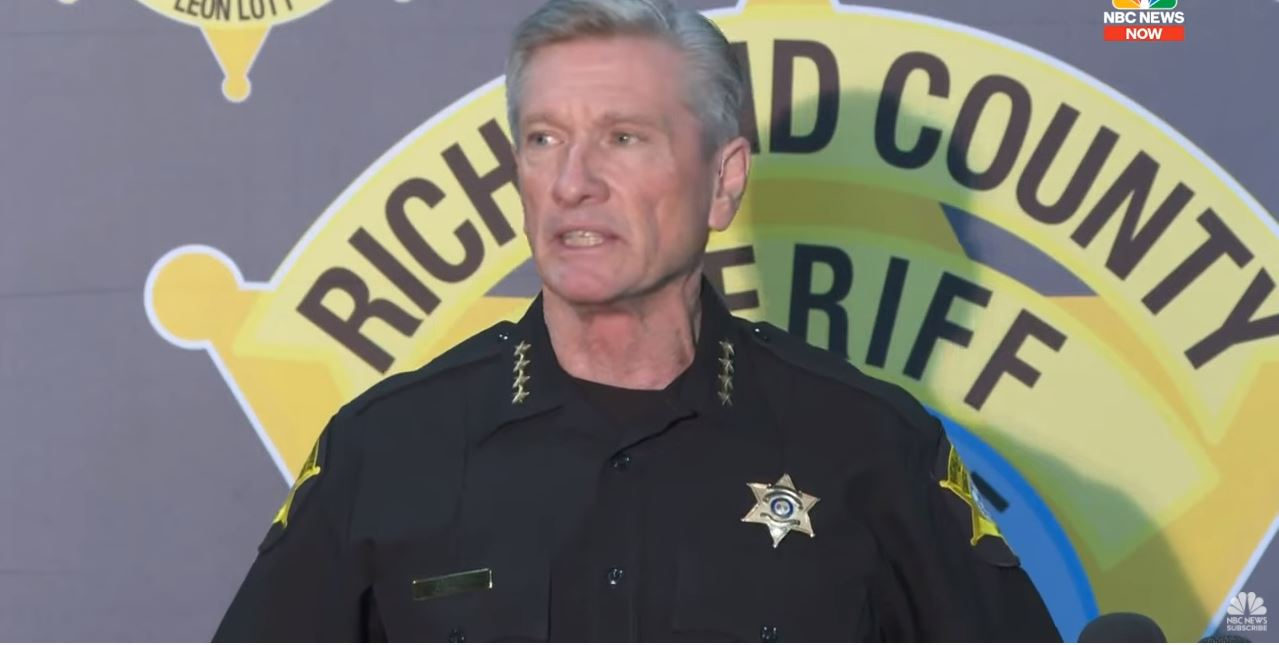 "Richland County Sheriff: We Won't Stand For ""Bullies"" In Our Community 