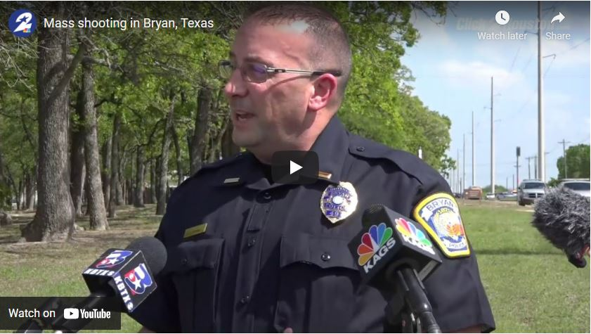 Mass shooting in Bryan, Texas