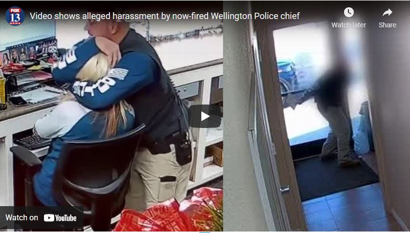 Video shows alleged harassment by now-fired Wellington Police chief
