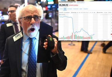 Dow opens down another 500 points as coronavirus fears grow